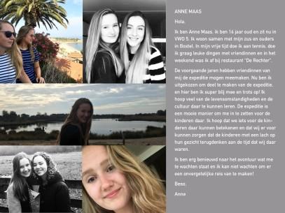 Voorstel pagina Anne