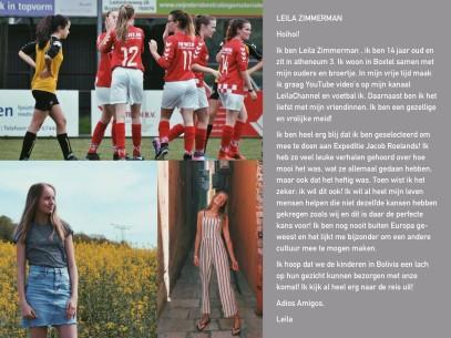 Voorstel pagina Leila